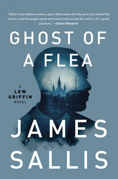 Cover for the Soho Press US issue of Ghost of a Flea